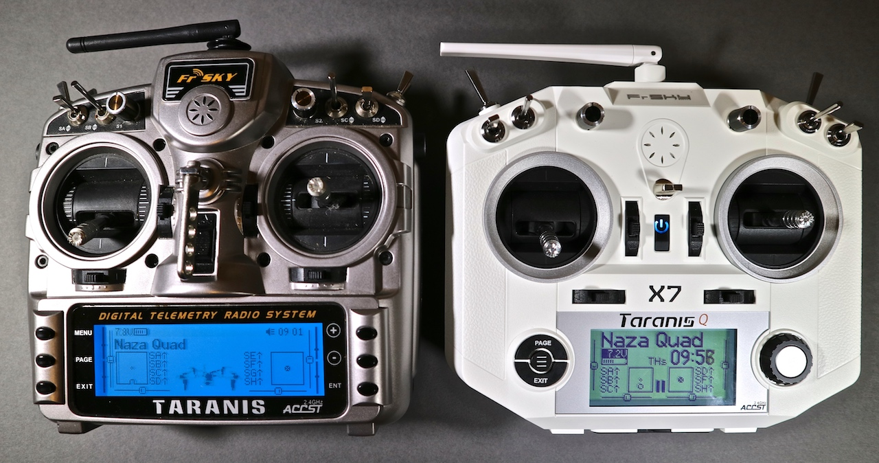 Taranis QX7 review (from DroneZone October/November 2017